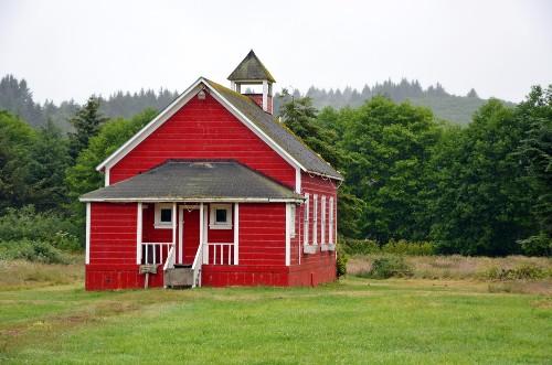 Coal Creek School House of Historic Aurora